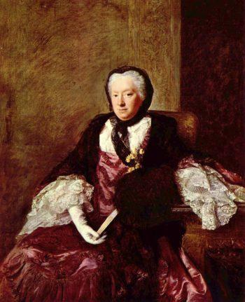 Portr?t der Mary Atkins (Mrs. Martin) | Allan Ramsay | oil painting