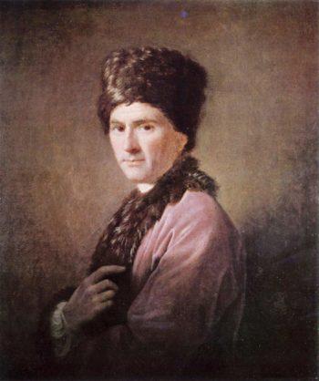 Portr?t des Jean-Jacques Rousseau | Allan Ramsay | oil painting