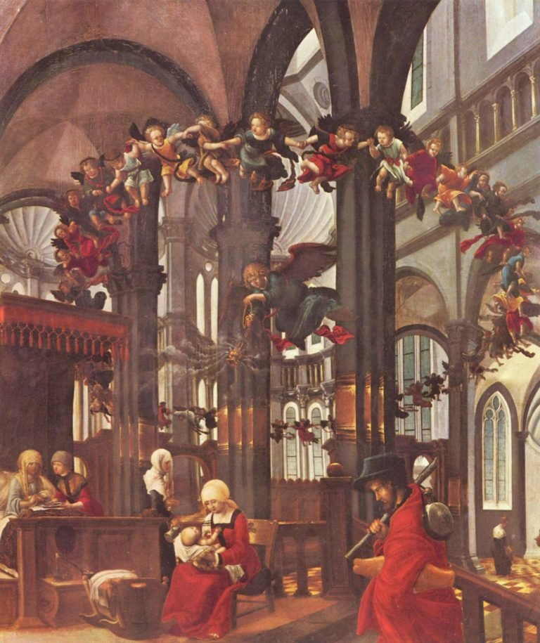 Geburt Mari? | Albrecht Altdorfer | oil painting