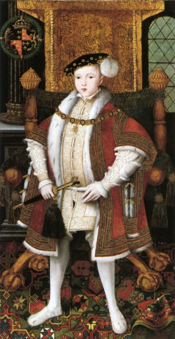 Edward VI swagger | Unknown Artist | oil painting