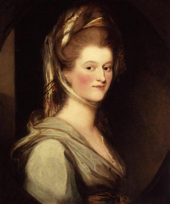 Elizabeth Berkeley Margravine of Anspach | Ozias Humphry | oil painting
