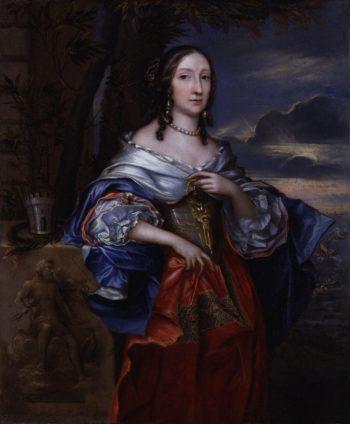 Elizabeth Claypole nae Cromwell | John Michael Wright | oil painting