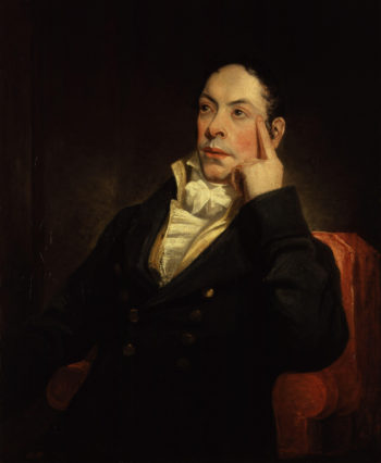 Matthew Gregory Lewis   Henry William Pickersgill   oil painting