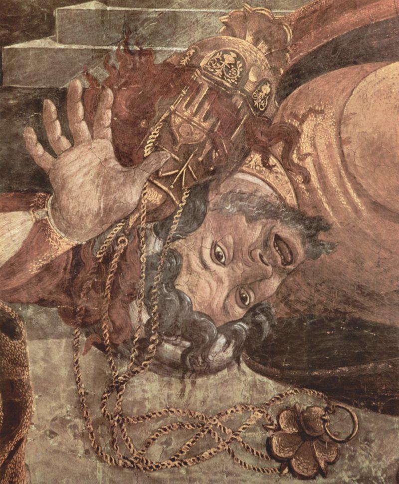 Fresken in der Sixtinischen Kapelle in Rom