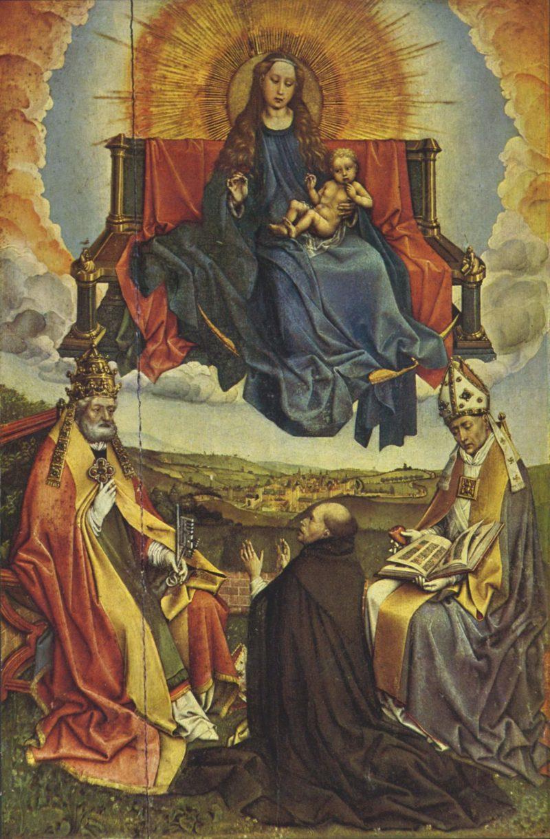 Hl. Jungfrau in der Glorie | Campin