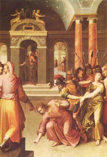 Christus und die Ehebrecherin | Caron