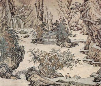 Landschaft in der Art des Li T'ang | Ch'iu Ying | oil painting