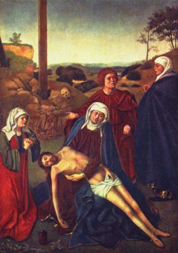 Die Beweinung Christi | Christus