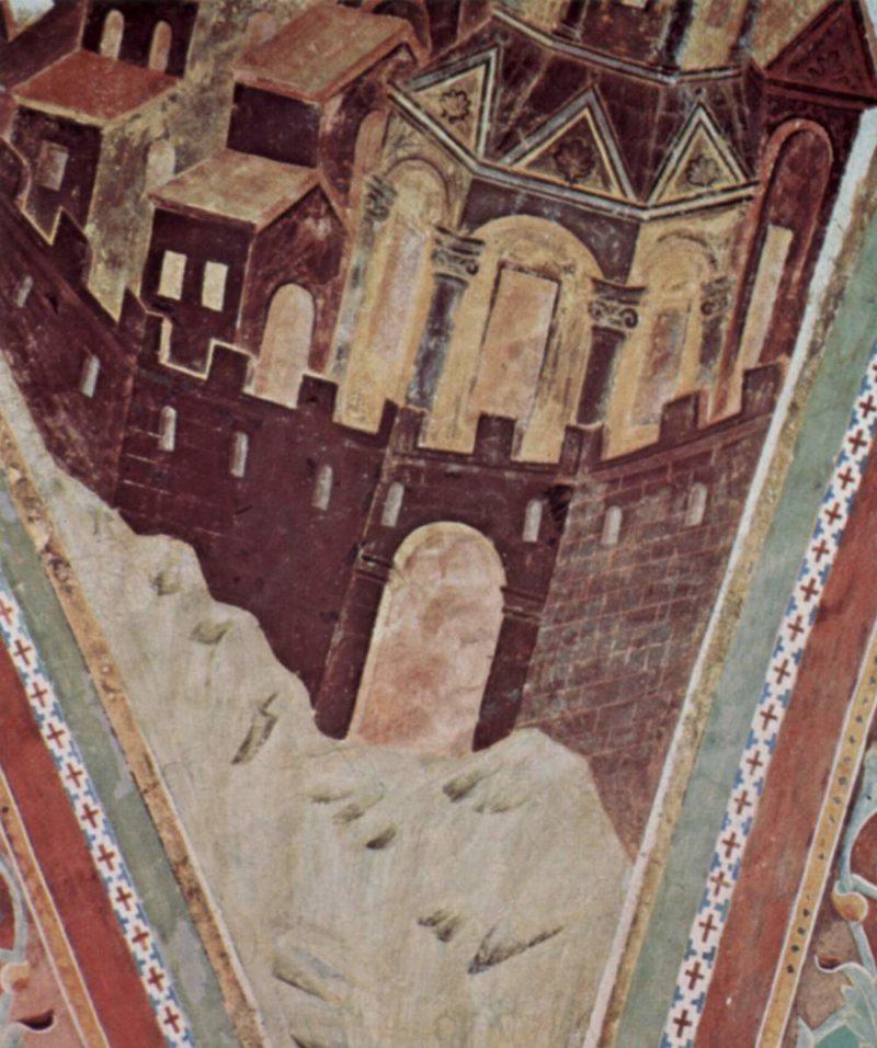 Fresken in der Oberkirche San Francesco in Assisi