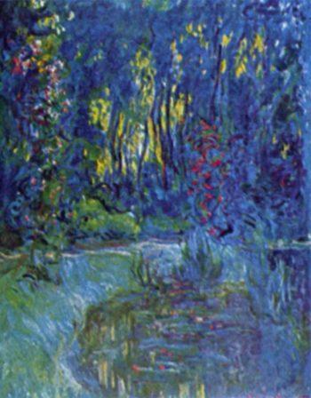 Wassergarten bei Giverny | Claude Monet | oil painting