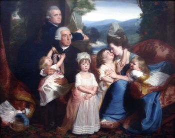 Portr?t der Familie Copley | Copley