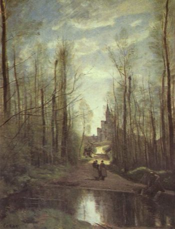 Erinnerung an Marissel | Jean-Baptiste-Camille Corot | oil painting