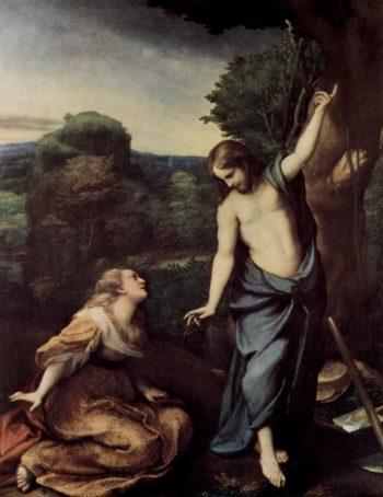 Noli me tangere | Correggio | oil painting