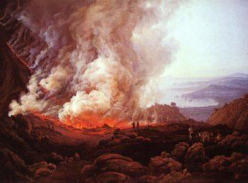 Ausbruch des Vesuvs | Dahl