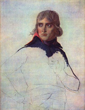 Portr?t des General Napoleon Bonaparte | Jacques-Louis David | oil painting