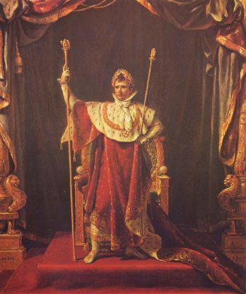 Portr?t des Napoleon im kaiserlichen Gewande | Jacques-Louis David | oil painting