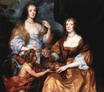 Portr?t der Ladies Elisabeth Thimbleby und Dorothy Viscountess Andover | Anthonis van Dyck | oil painting