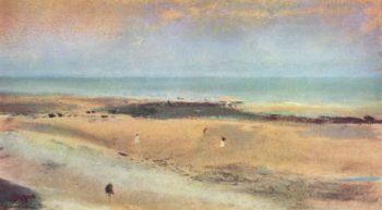 Strand bei Ebbe | Edgar Degas | oil painting