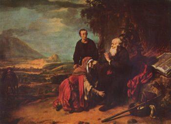 Der Prophet Eliseus und die Sunamitin | Eeckhout