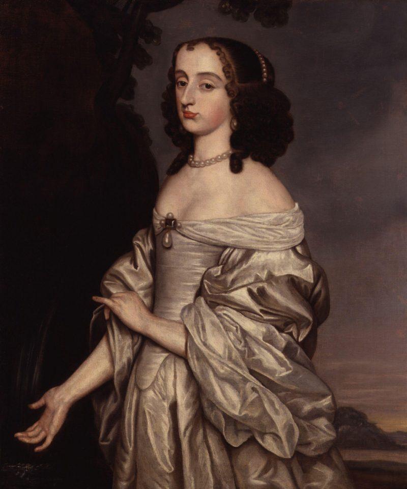 Probably Mary Princess of Orange | Gerrit van Honthorst | oil painting
