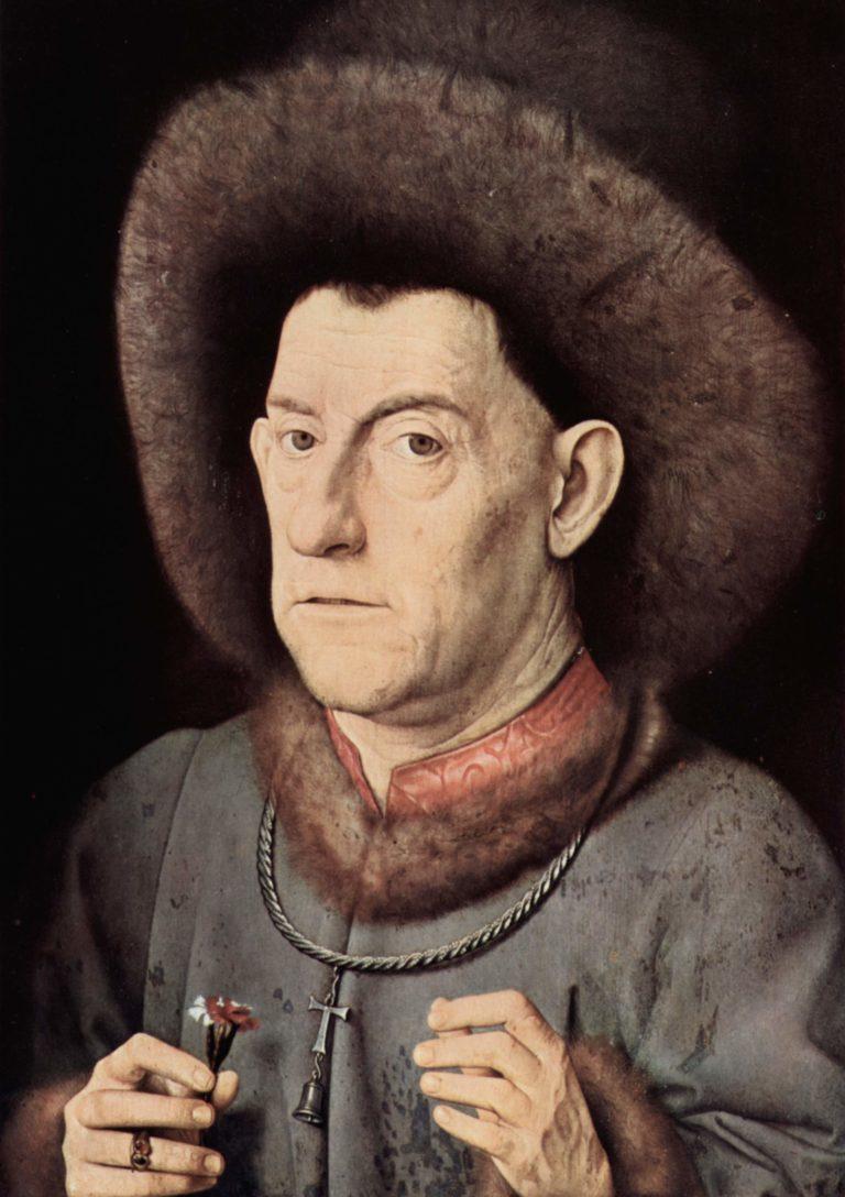 Portr?t eines Mannes von Garofano | Jan van Eyck | oil painting