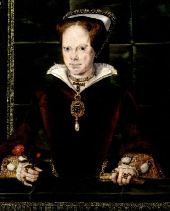 Queen Mary I   Hans Eworth   oil painting