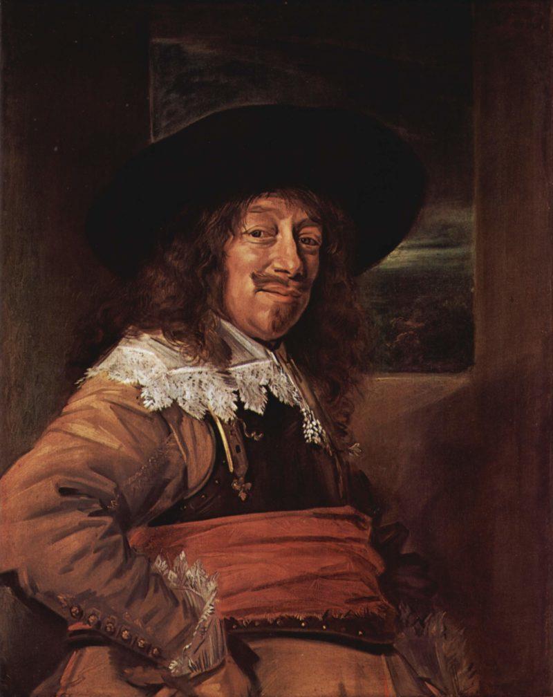 Portr?t eines Mannes im Brustharnisch   Frans Hals   oil painting