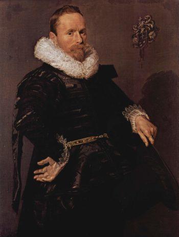 Portr?t eines Mannes mit plissiertem Kragen