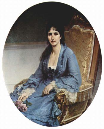 Portr?t der Antonietta Negroni Prati Morosini