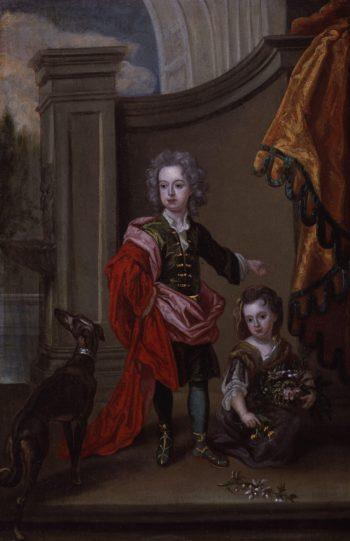 Richard Boyle 3rd Earl of Burlington and 4th Earl of Cork Lady Jane Boyle | Sir Godfrey Kneller | oil painting