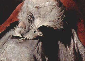 Portr?t der Prinzessin di Sant' Antimo (detail) | Francesco Hayez | oil painting