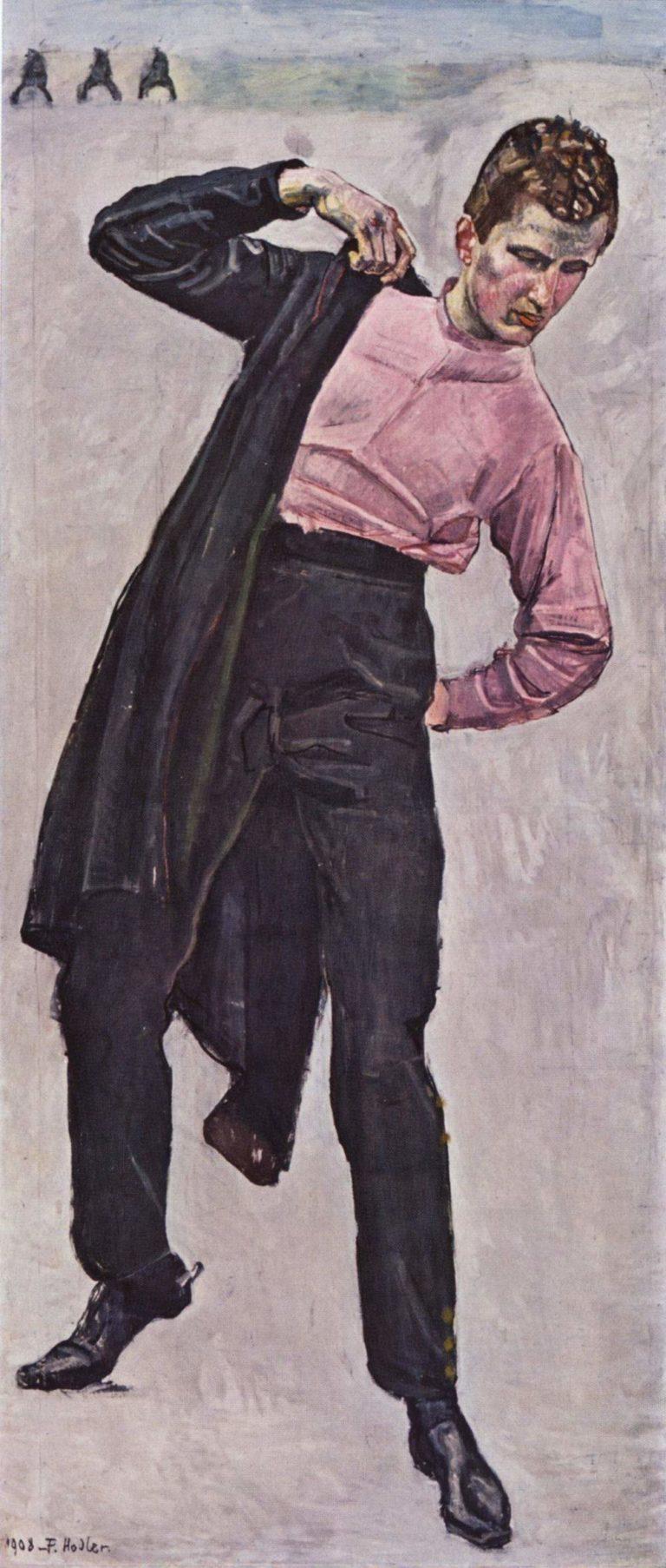Junger Freiheitsk?mpfer | Ferdinand Hodler | oil painting