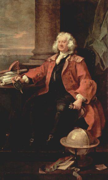 Portr?t des Captain Thomas Coram | William Hogarth | oil painting