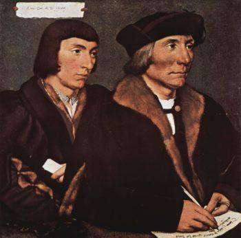 Portr?t des Thomas Godsalve mit seinem Sohn John | Hans Holbein | oil painting