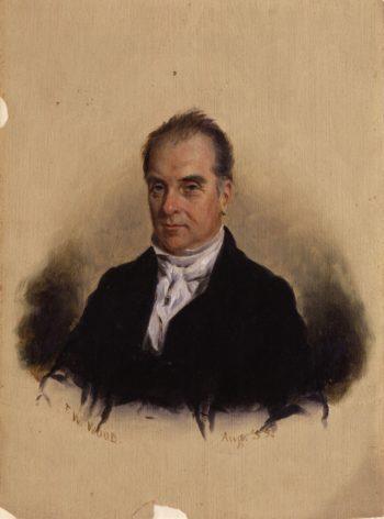 Robert Baldwin | Thomas Waterman Wood | oil painting