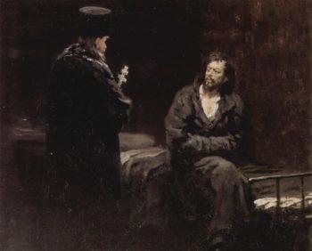 Unbekannter Titel | Ilja Jefimowitsch Repin | oil painting
