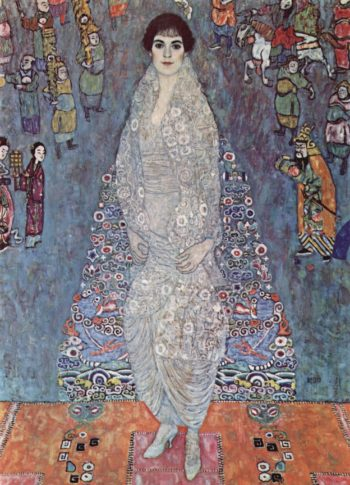 Portr?t der Baroness Elisabeth Bachofen-Echt   Gustav Klimt   oil painting