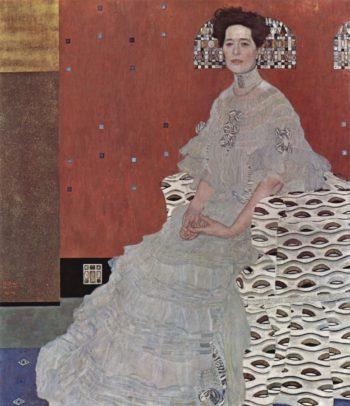Portr?t der Fritza Riedler   Gustav Klimt   oil painting