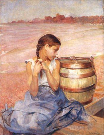 Zatruta studnia I | Jacek Malczewski | oil painting