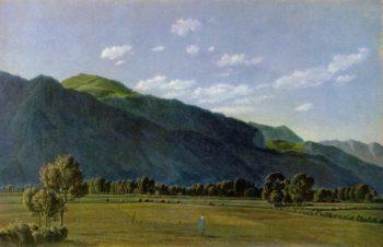 Blick in das Tal von Kreuth | Wilhelm von Kobell | oil painting
