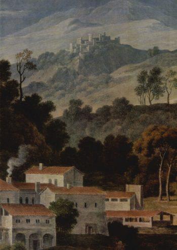Das Kloster San Francesco im Sabinergebirge bei Rom