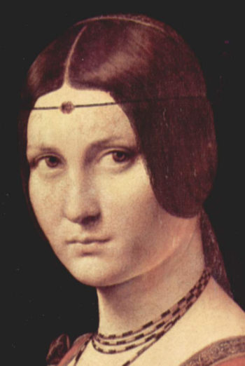 Portr?t einer jungen Frau (La belle Ferroni?re) | Leonardo da Vinci | oil painting