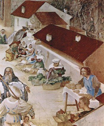 Freskenzyklus im Oratori Suardi in Trescore