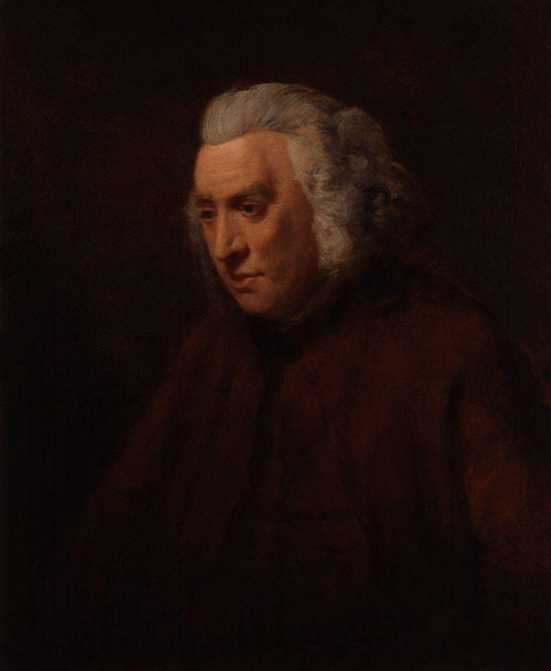 Samuel Johnson | John Opie | oil painting
