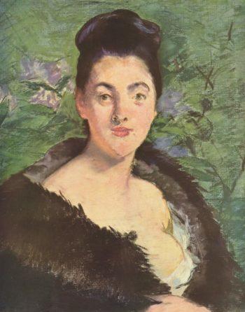Dame im Pelz | Edouard Manet | oil painting