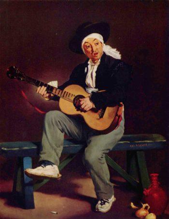 Spanischer S?nger | Edouard Manet | oil painting