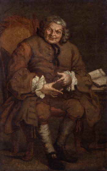 Simon Fraser 11th Baron Lovat | William Hogarth | oil painting