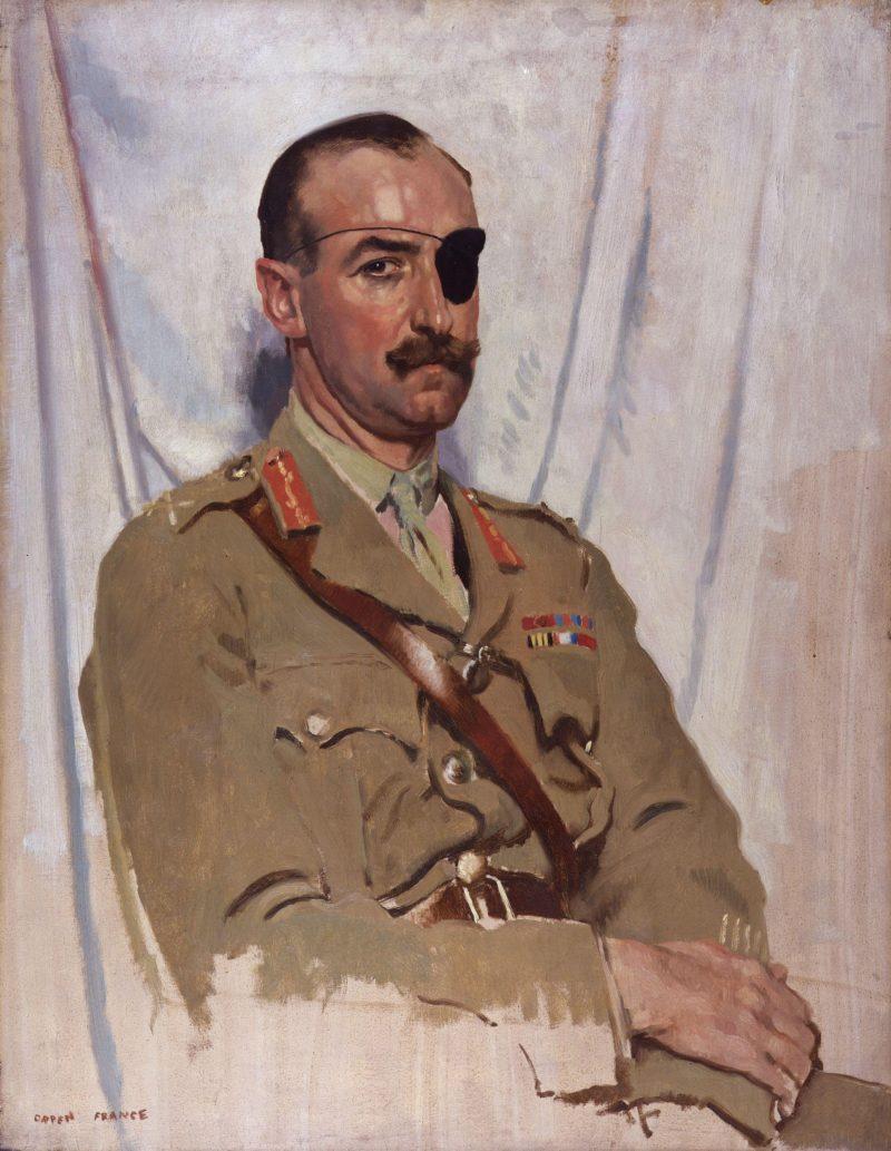 Sir Adrian Carton de Wiart | Sir William Orpen | oil painting