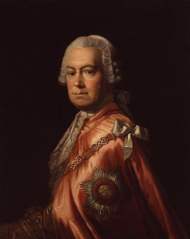 Sir Andrew Mitchell | Allan Ramsay | oil painting
