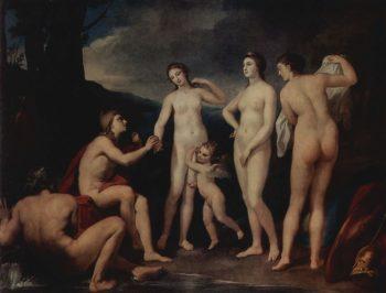 Das Urteil des Paris | Anton Raphael Mengs | oil painting